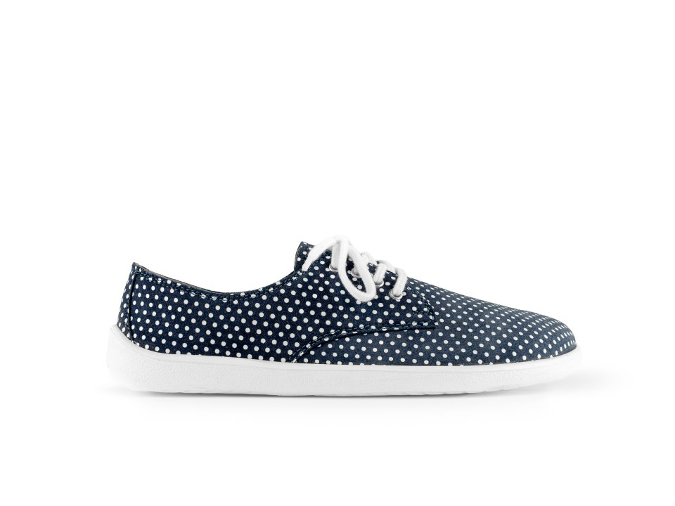 Barefoot Be Lenka City - Dark Blue with Dots