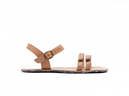 Barefoot sandále Be Lenka Summer - Brown