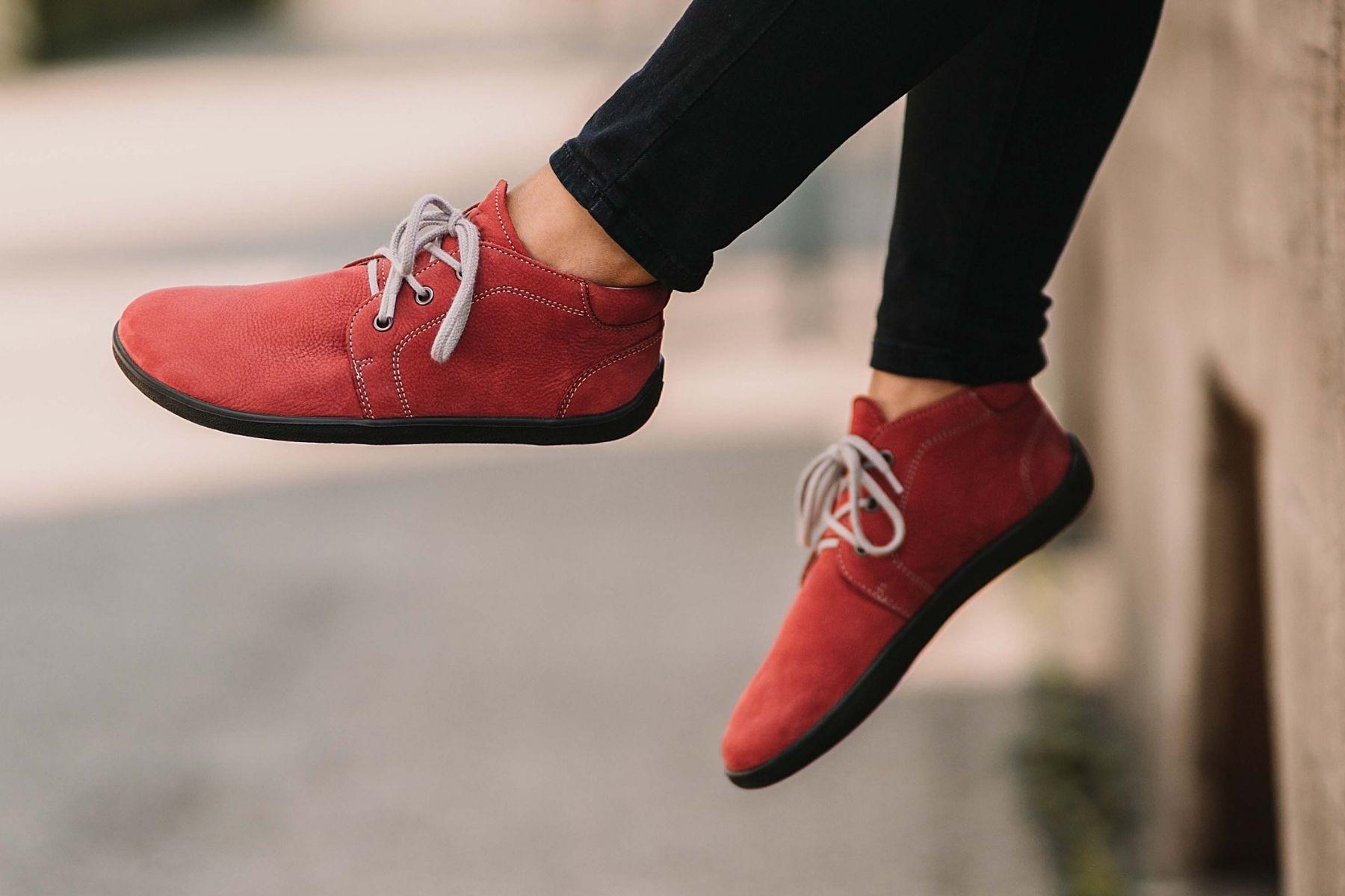 Barefoot Be Lenka Icon celoročné - Deep Red 42
