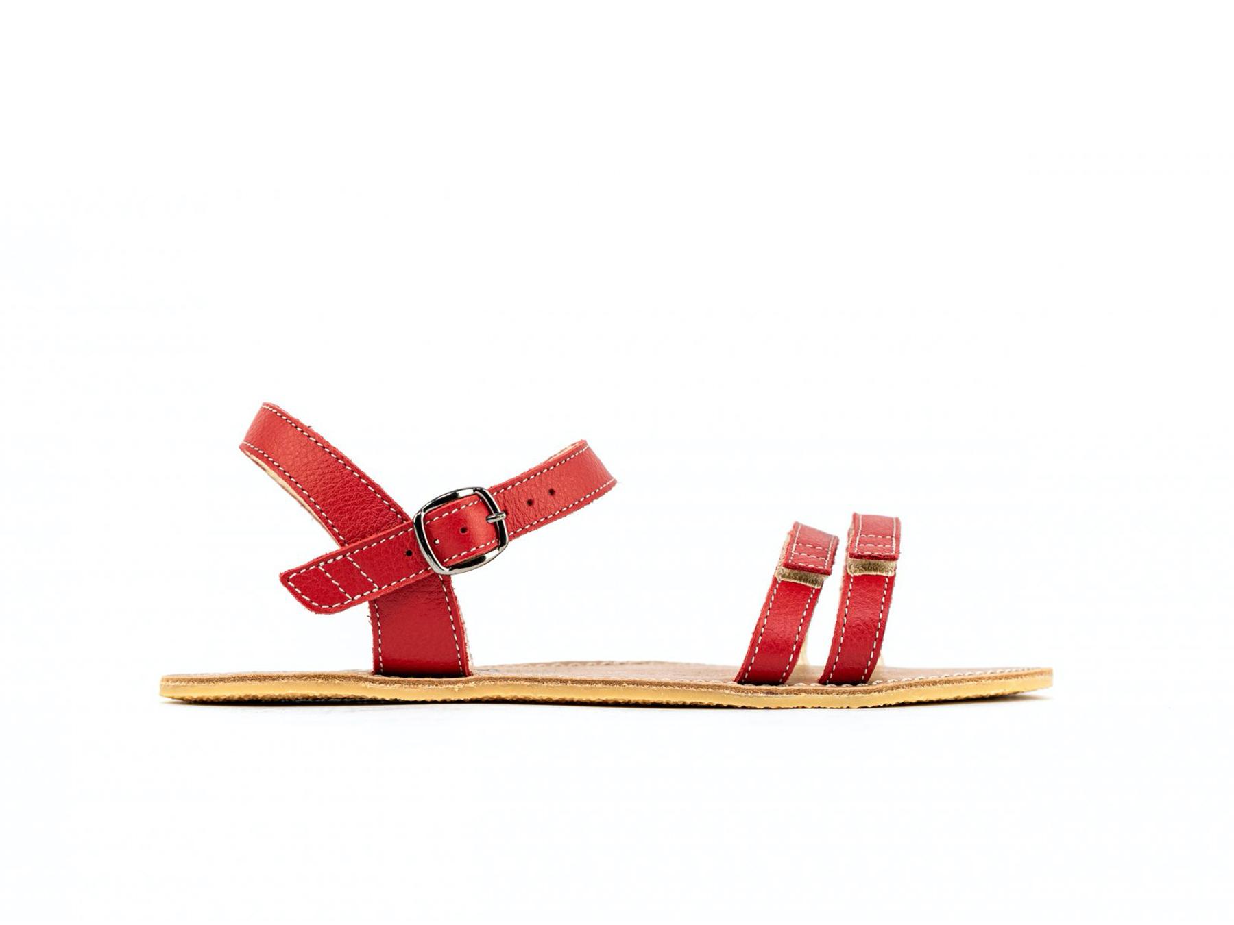 Barefoot sandále Be Lenka Summer - Red 42