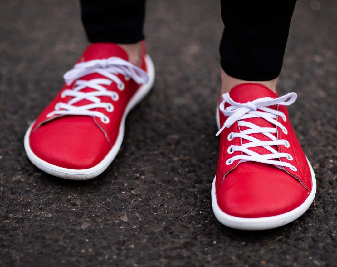 Barefoot tenisky Be Lenka Prime - Red 42