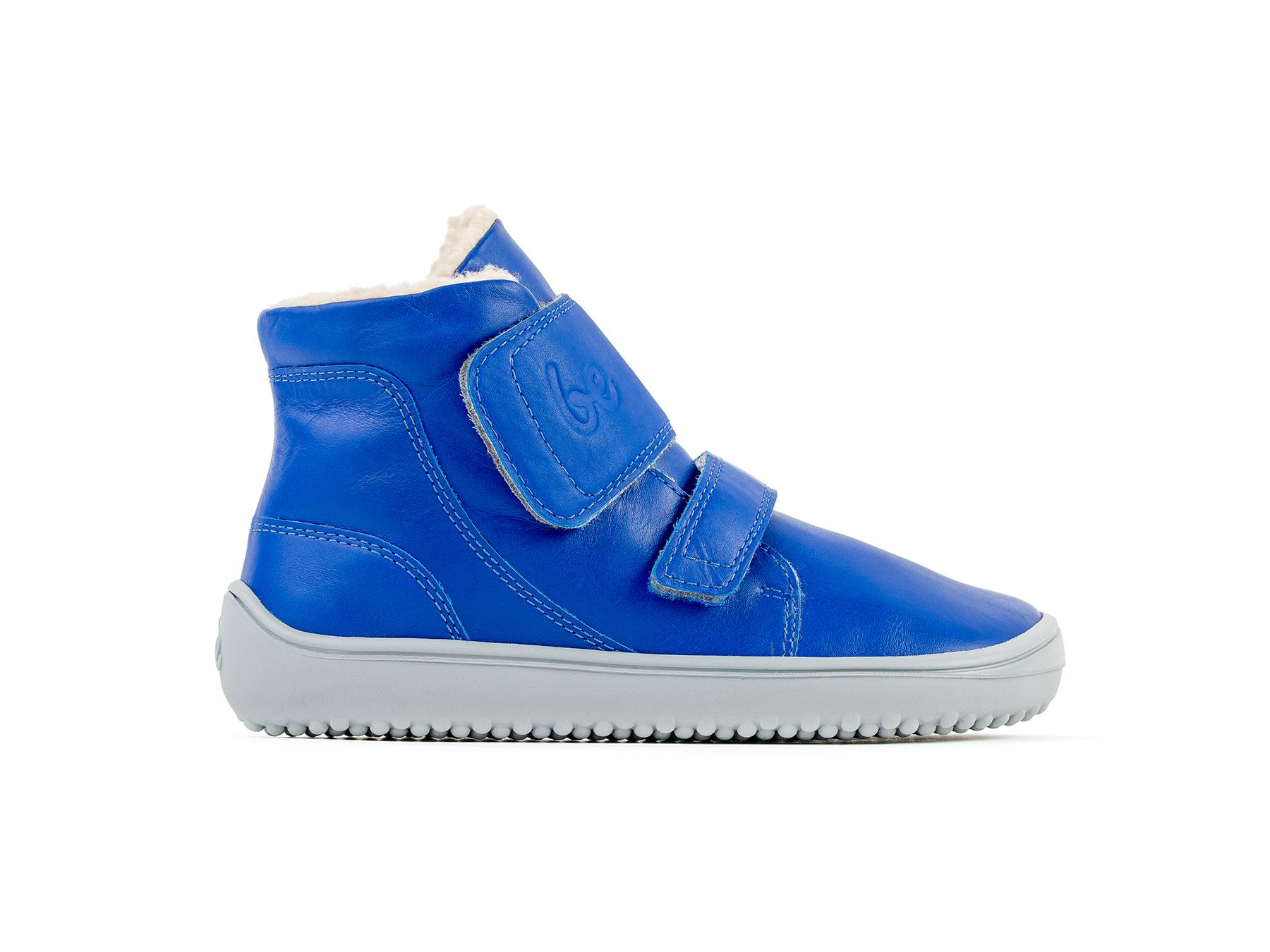Detské zimné barefoot topánky Be Lenka Panda - Blue 30