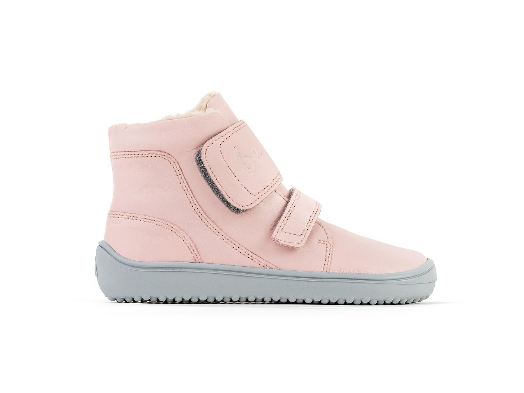 Detské zimné barefoot topánky Be Lenka Panda - Rose Pink 30